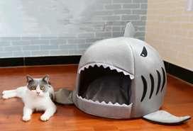 – Casa de gato modelo Tiburón
