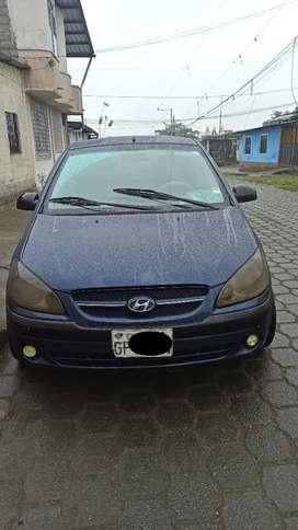 Hyundai Getz azul full