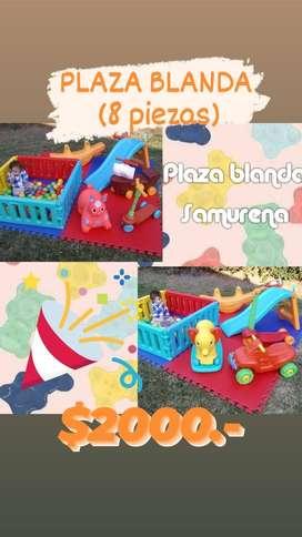 alquiler plaza blanda