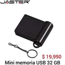 Memoria mini USB de 32 Gb y 64 Gb