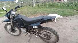 Vendo moto ranger año 2007  con todos sus papeles al dia