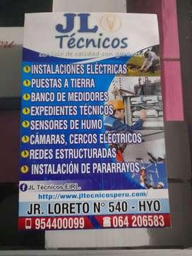 Servicios eléctricos y seguridad electrónica