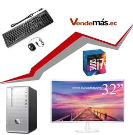 Computador 32 Pulgadas Cpu Hp I7 9na 8gb Optan 16gb Wifi 1tb