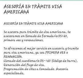 Asesoría de Visa Usa