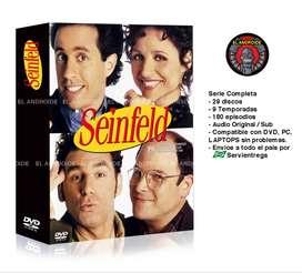 Seinfeld Serie Completa Comedia