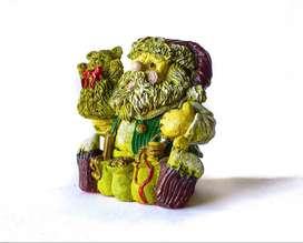Papá Noel en ceramica
