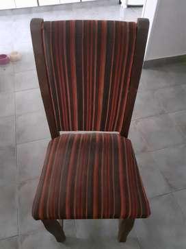 6 sillas. Escucho ofertas