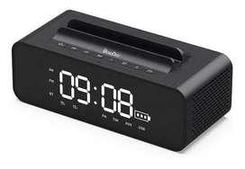 Speaker bluetooth radio reloj, cuenta con un diseño novedoso y muy atractivo,