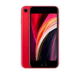 Iphone SE 2020 128 GB Rojo en caja.