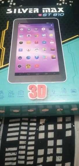 Se vende tablet con sistema de imagen 3d