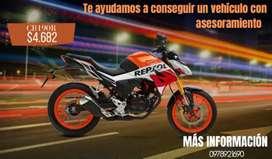 Venta de motocicleta CB190R