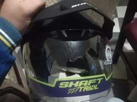Casco para moto shaft