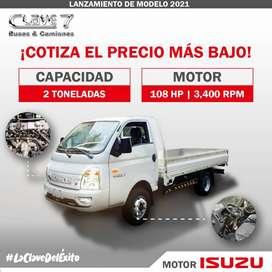 Venta de camion Marca Clave 7 motor Isuzu original