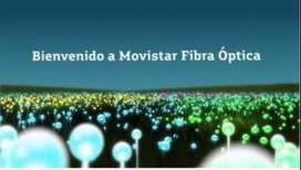 INTERNET FIBRA ÓPTICA MOVISTAR CON VELOCIDAD SIMÉTRICA
