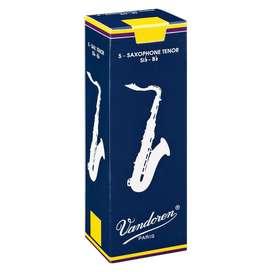 Caña Vandoren SR223 unidad Saxofon Tenor Bb 3 Music Box