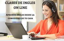 Clases virtuales de ingles on line