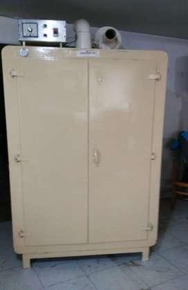 Horno de secado electrico termostatado