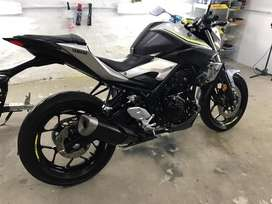 Vendo Yamaha MT 03 2017 impecable