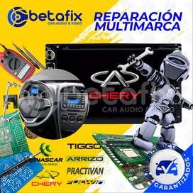 REPARACIÓN DE RADIOS DE AUTO CHERY / TIGGO / CINASCAR / DONGFENG / PRACTIVAN / ARRIZOBETAFIX DESDE