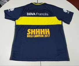 Boca Camiseta Shhhhh 2017, Talle XL