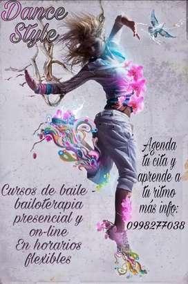 Curso de baile y bailoterapia