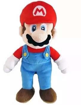 Peluche Muñeco Mario Bross 40cm Grande Suave