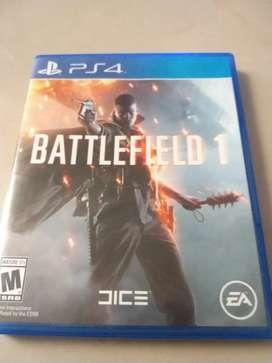 Battlefield 1 ps4 usado en perfecto estado