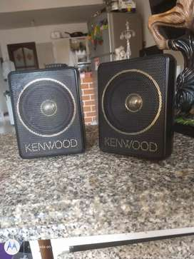 Parlantes kenwood originales en exelente estado