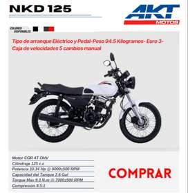 Motocicleta AKT NKD 125