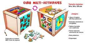 CUBO MULTI - ACTIVIDADES