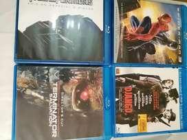 Vendo películas en blue ray