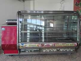 Vendo congelador de carne con divicion