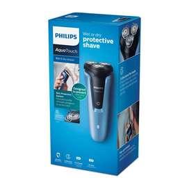 Afeitadora Philips Aquatouch S1070 Inalambrica Lavable