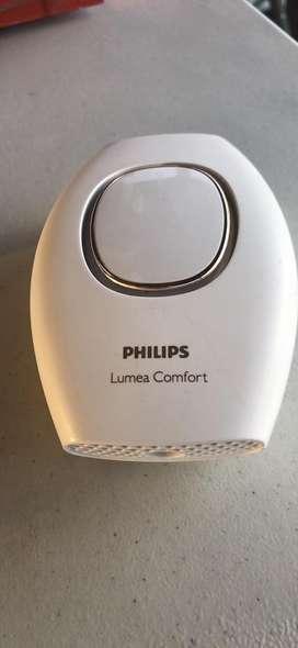 Depiladora luz pulsada Philips Lumea Confort. Casi sin uso.