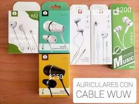 Auriculares con Cable WUW
