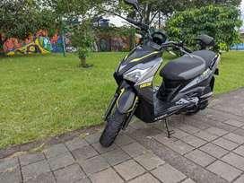 VENDO moto Kymco Urban S - Modelo 2020 - 125 cc - Aún con garantía de Auteco