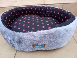 (CASEROS) Cama Cuna Moises Con Almohadon Para Perros Pequeños