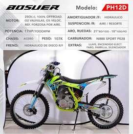 Se vende moto lineal Bosuer 250cc