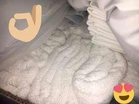 Toalla hotelera royal cannon excellence 100% algodon grande para cuerpo 132 X 71,1CM