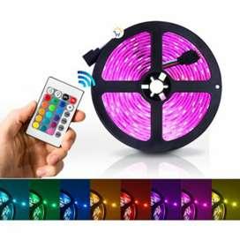 Luces LED 16 colores con Control