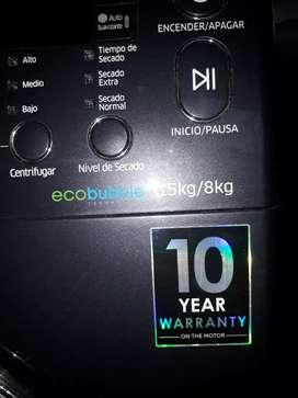 Lavadora secadora Samsung EcoBubbleBlue