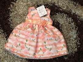 Vestidos de Niña Nuevos Talla 12M, 2T, 3T y 4T