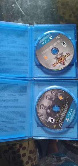 Vendo dos juegos de playstation