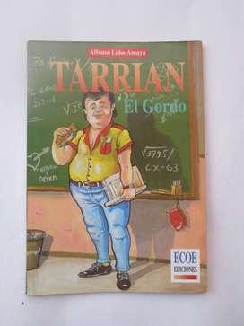 LIBRO TARRIAN EL GORDO usado