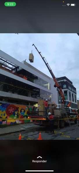 Se solicita operador de camiongrua. Experiencia con brazo articulado. Licencia C2 o C3. En Bogotá.