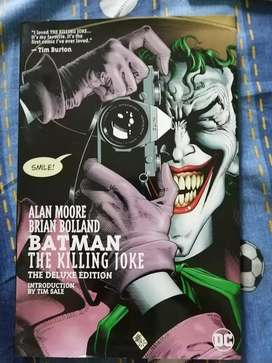 "Comic ""Batman: The Killing Joke"" Deluxe Edition."