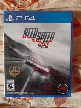 Juego Need for speed Rivals de ps4