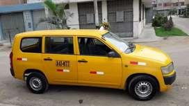 Toyota probox amarillo