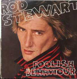 Rod Stewart Foolish Behaivor Lp Usa
