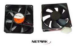 Cooler Netmak 8x8 Fuente Y Gabinete Pc/cpu